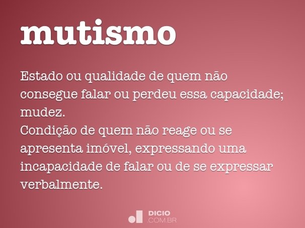mutismo