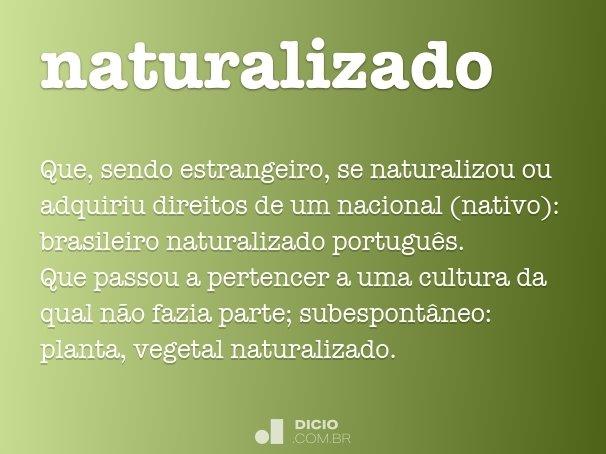naturalizado