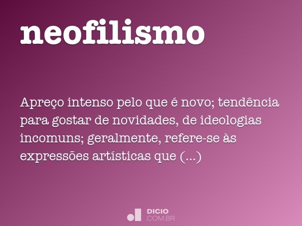 neofilismo