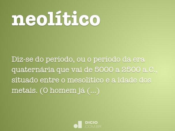 neol�tico