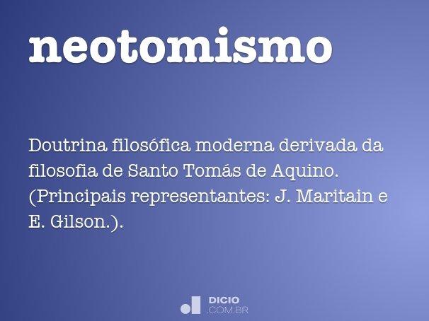 neotomismo