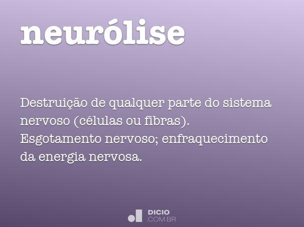 neurólise