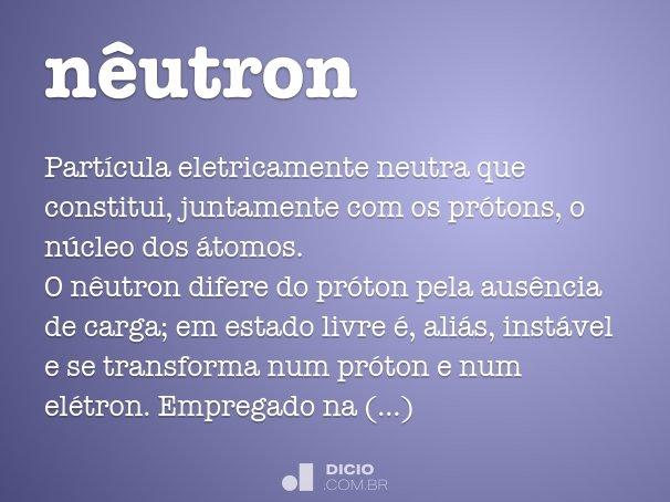 nêutron