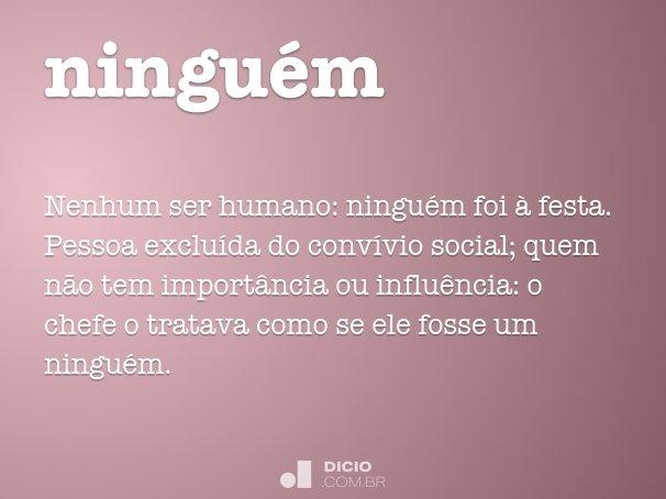 ningu�m