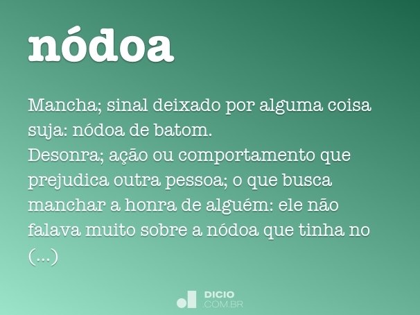 nódoa