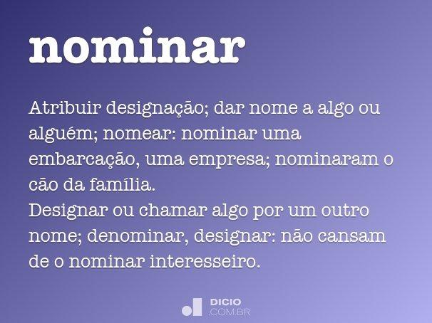 nominar