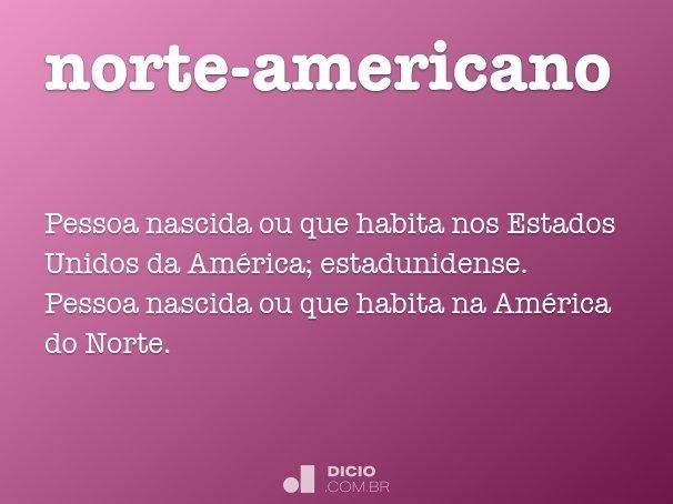 norte-americano