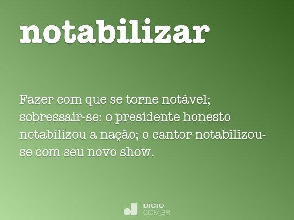 notabilizar