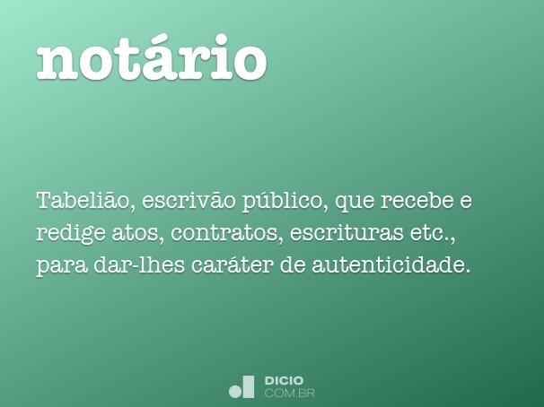 not�rio