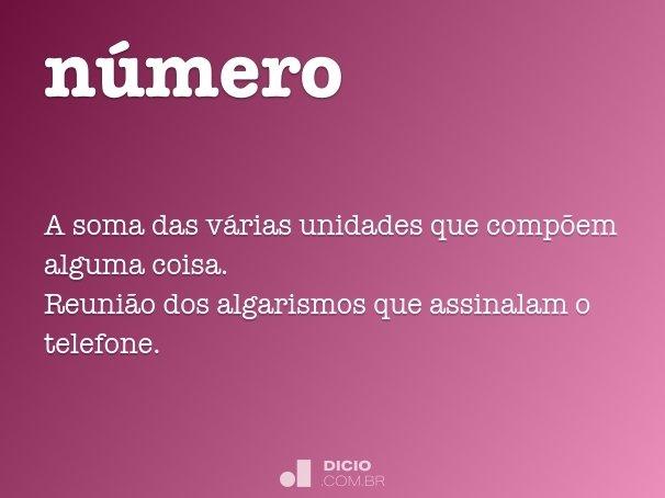 n�mero