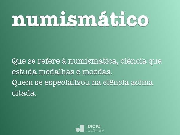 numism�tico