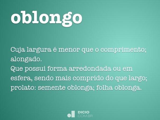 oblongo