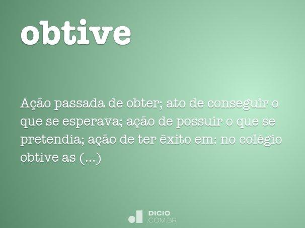 obtive