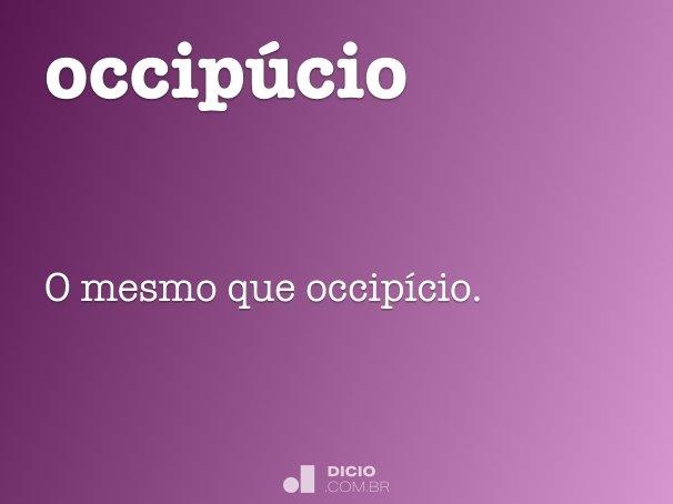 occipúcio