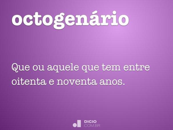 octogen�rio