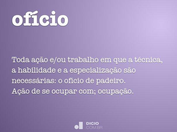 of�cio