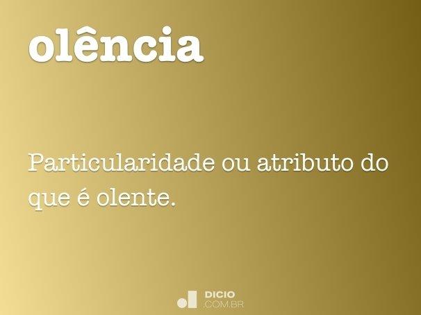 ol�ncia