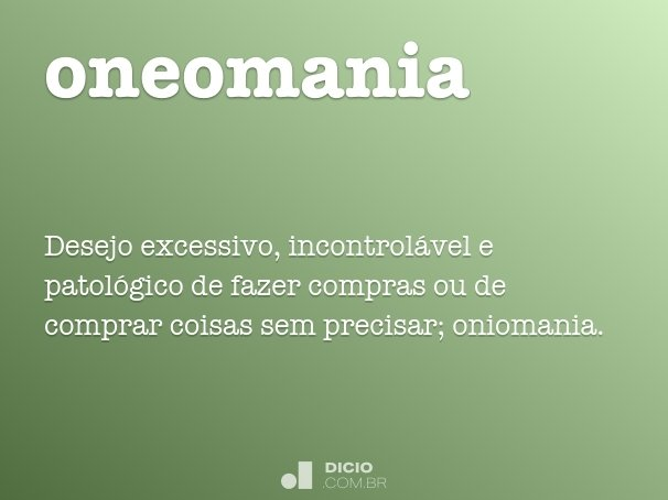 oneomania