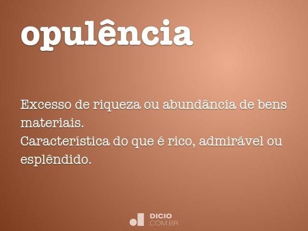 opul�ncia