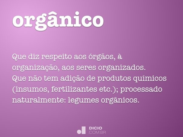 org�nico