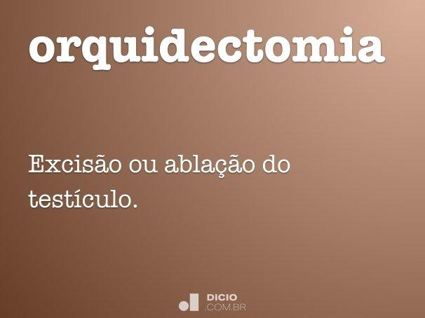orquidectomia