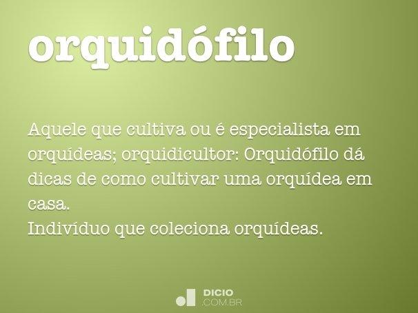 orquidófilo