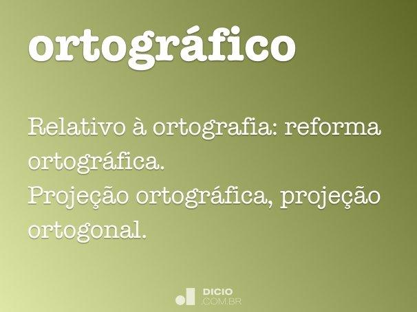 ortogr�fico