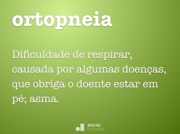 ortopneia