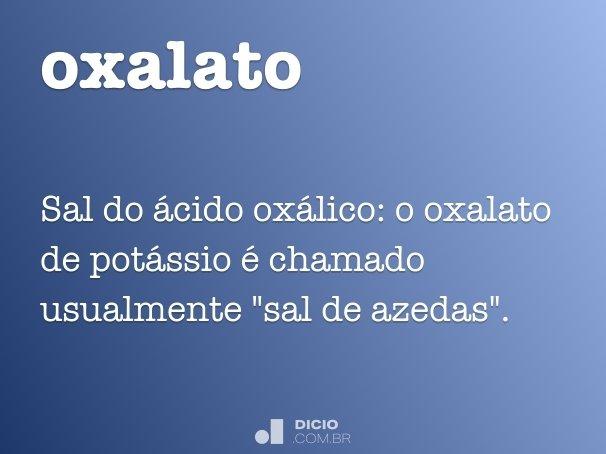 oxalato