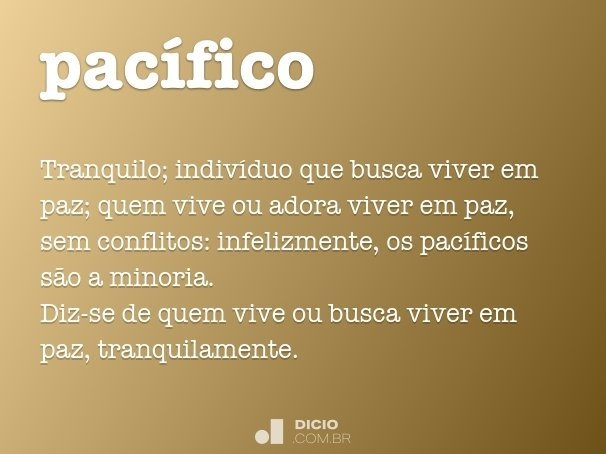 pac�fico