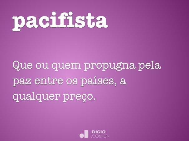 pacifista