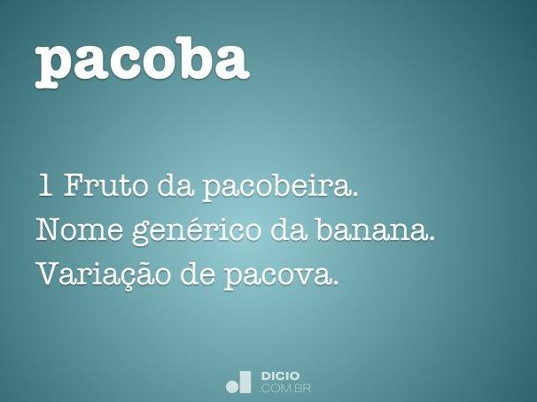 pacoba