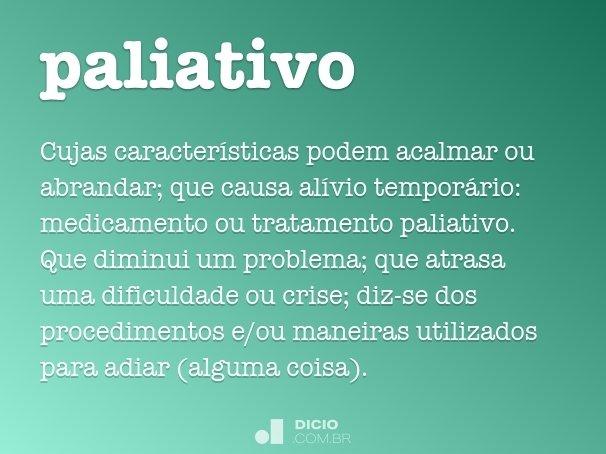 paliativo