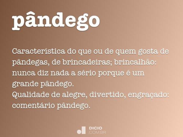 p�ndego