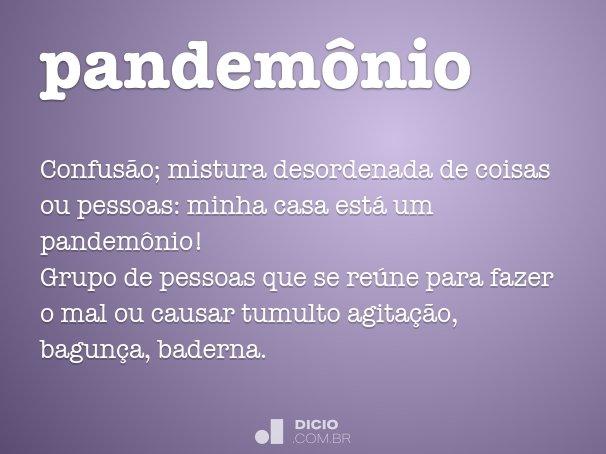 pandem�nio