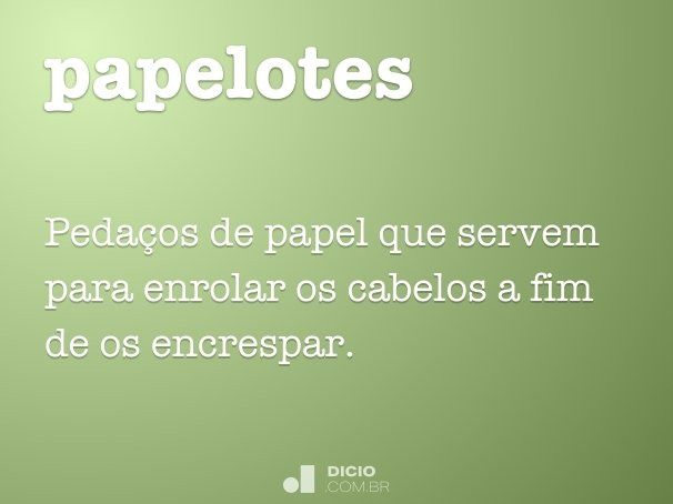 papelotes