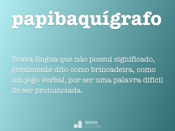 papibaqu�grafo