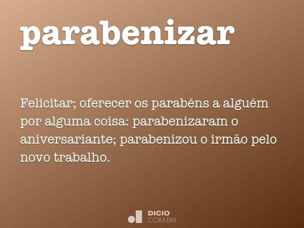 parabenizar