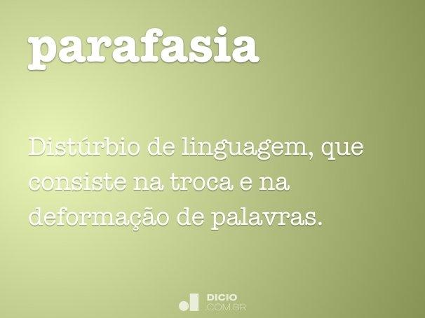 parafasia