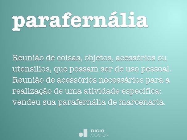 parafernália