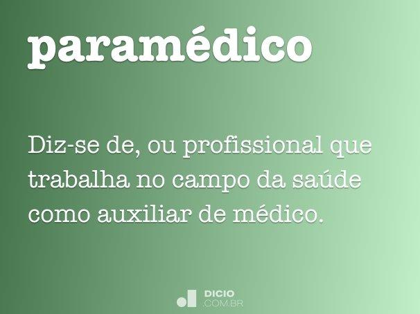 paramédico