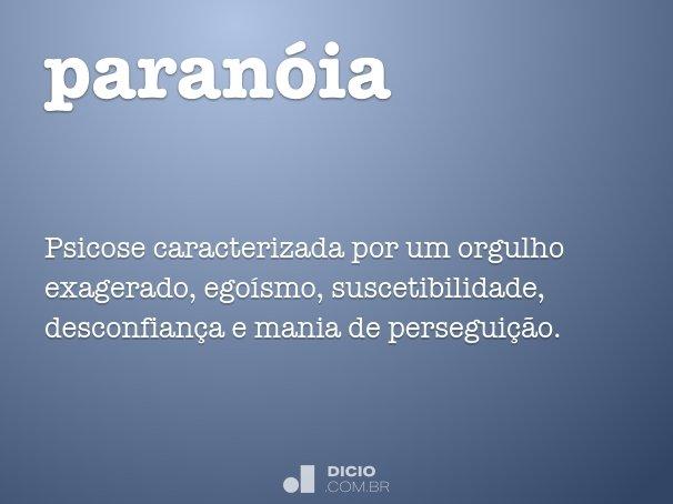 paran�ia