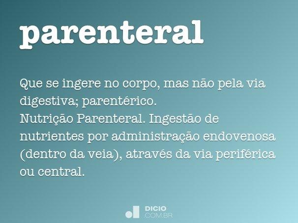 parenteral