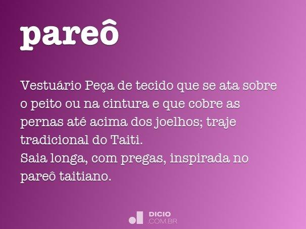 pareô