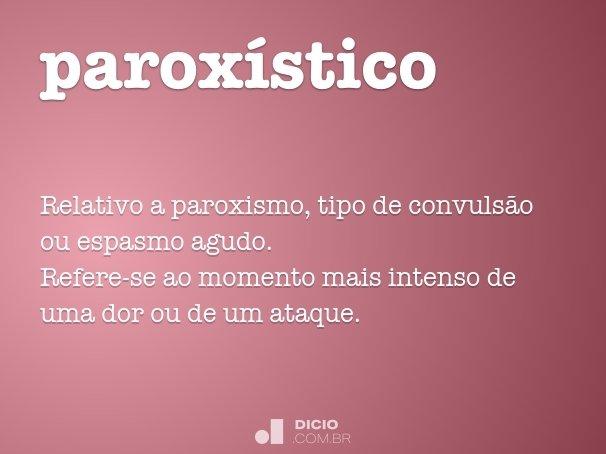 parox�stico