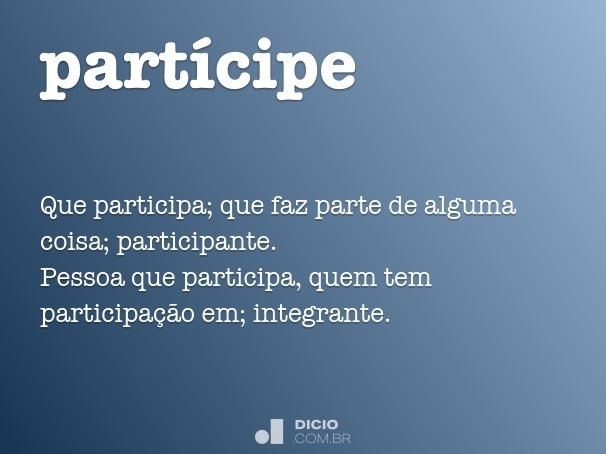 partícipe