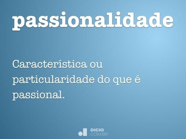 passionalidade