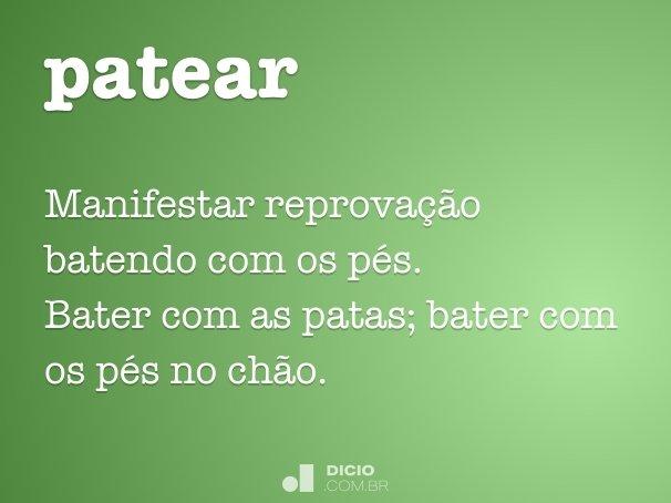 patear