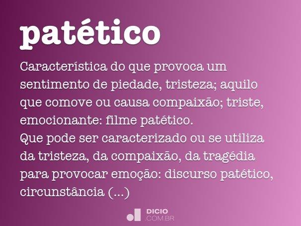 pat�tico
