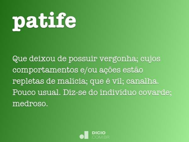 patife